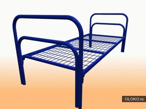 Кровати металлические для времянок, кровати для общежитий, кровати металлические для санаториев..