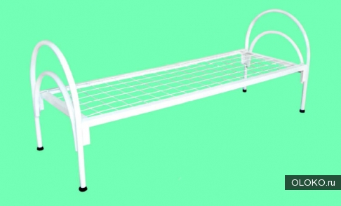 Кровати металлические с ДСП спинками, кровати одноярусные и двухъярусные, кровати для интернатов..