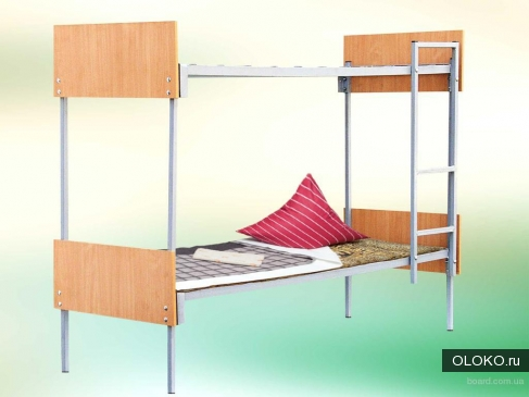 Металлические кровати для пансионатов, кровати армейские, кровати одноярусные и двухъярусные оптом..