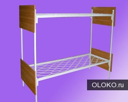 Металлические кровати для пансионата, кровати для бытовок, кровати металлические для времянок..