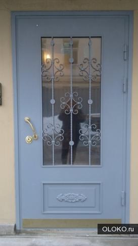 Металлические двери.