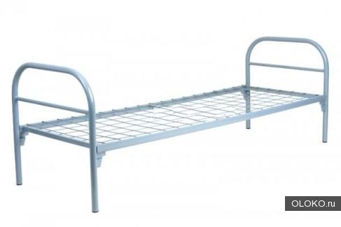 Армейские кроватки металлические, Кровати одноярусные, двухъярусные, Кровати для казарм, бараков, Кровати для общежитий.