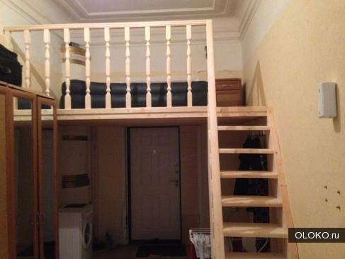 Строим второй этаж в комнате.