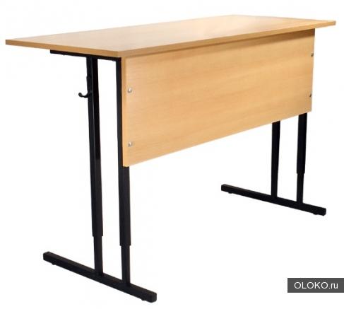 Парты для аудиторий, Столы обеденные, офисные, Столы на металлокаркасе.