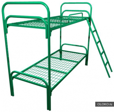 Кровати металлические оптом, кровати одноярусные и двухъярусные от прямого производителя, купить кровати дешево.