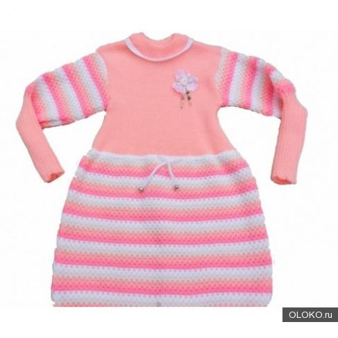 Платье туника для девочки 3-4 лет.