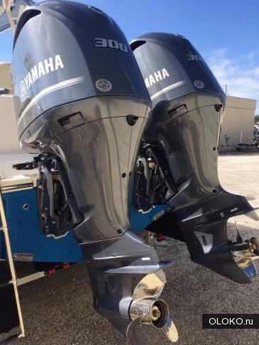 Мотор лодочный Yamaha F300BET.