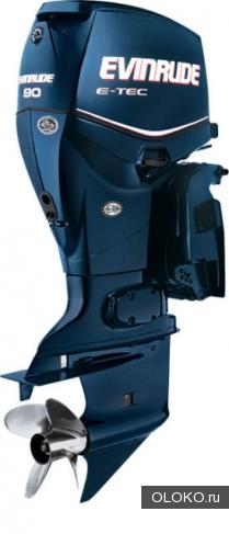 Лодочный мотор Evinrude E90DPL.