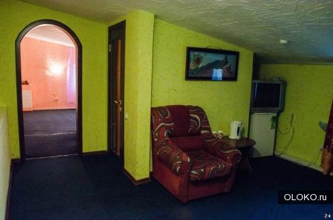 Небольшая и тихая гостиница Барнаула.