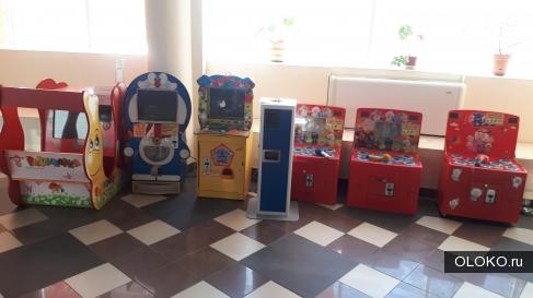 Детские игровые аппараты автоматы.