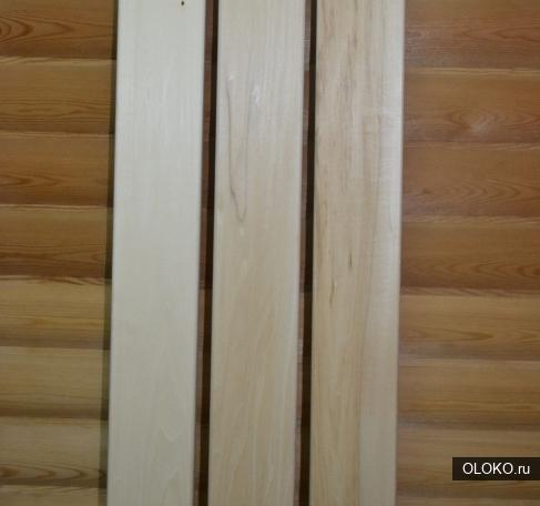 Качественный полок из липы для создания лежака в Барнауле.